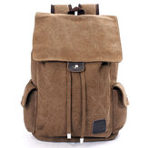 Men Outdoor Travel Canvas Backpack School Rucksack Shoulders Bag