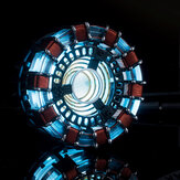MK1 Acrylique Tony DIY Arc Reactor Lamp Kit Arcylic Illuminant LED Flash Jeu de lumières