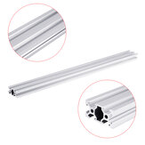 Machifit 100-1200mm Silver 2040 V-Slot Aluminum Profile Extrusion Frame For CNC Tool DIY