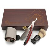 Heavy Straight Razor Shaving Brush Strop Kits