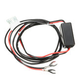 DRL Controller Car LED Daytime Running Light Relay Harness Dimmer On/Off 12V