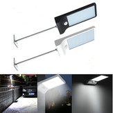 Impermeable 36 LED al aire libre Solar Powered PIR Motion Sensor Seguridad Lámpara Poste de montaje ligero Fit Inicio