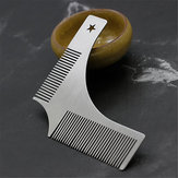 Stainless Steel Beard Styling Shaping Template Comb