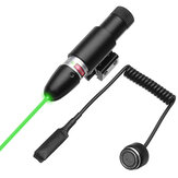 Groene Laser Beam Dot Sight Scope Tactische Barrel Rail Mount Met Remote Pressure Switch