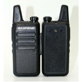 Baofeng BF-R5 Mini Walkie Talkie met headset 5W power 400-470Mhz Frequentie UHF Handheld radio Intercom Two Way Radio
