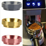Kaffeemaschine Kaffee Dosierring Aluminiumtuch Pulver Pulver Feeder Anti-Flying Powder Quantitative Ring 58Mm Universal