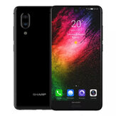 SHARP AQUOS S2 (C10) Global Version 5,5 pouces FHD + NFC Android 8.0 4GB RAM 64GB ROM Snapdragon 630 Octa Core 2.2GHz 4G Téléphone intelligent