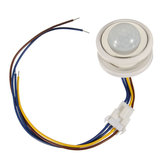 40mm PIR Infrared Ray Motion Sensor Switch Time Delay Adjustable Mode Detector