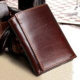 RFIDBlockingLeathervendimiaMulti-CardSlots Wallet