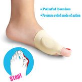 Women High Elastic Soft Painful Bunion Corrector Breathable Full Care Toe Pain Remover