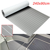 240cmx90cmx5mm Marine Flooring Faux Teak Grey With White Lines EVA Foam Boat Decking Sheet