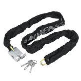 Metal Heavy Chain cerradura Security Moto Bike Scooter Safety Anti Theft Candado