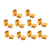 10 Pairs XT30 2mm Golden Male Female Plug Interface Connector