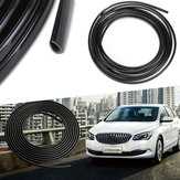 5 m Rubber Car Interior Moulding Trim Strip Zwart Flexibele Decoratie Dashboard Deur Rand Lijn