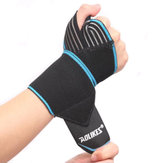 Weight Lifting Fitness Hand Bandage Elastic Wrist Injury Support Sport Protective Wristband