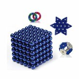 216 STKS 3mm Magneetische Bok Bal Magneet Met Doos Colorful Intelligente Stress Reliever Speelgoed Gift