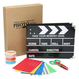 Clapboard Clipboard DIY Stern Scrapbooking DIY Photo Album Card Paper Craft With Storage Box
