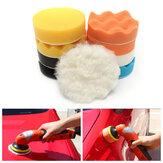 11pcs4inchCarSpongePolishingTool Set Waxing Buffing Reiniging Wash stootkussen Kit
