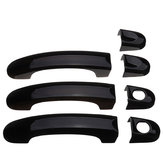 7 stks Set Gloss Black Deurklink Covers Handgrepen Voor VW Transporter T5 T6