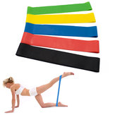 KALOAD 5 Pcs Resistance Bands Elastic Fitness Rubber Bands Sport Exercises Pull Rope With Storage Bag