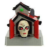 Halloween Decoratie Terror Ghost Electric Shout Kidding Toys