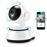 XiaovvQ6SSmart360°PTZ Panoramisch 720P Wifi Babyfoon H.264 ONVIF Two Way audio Beveiliging IPcamera met M-otion Detectie Nachtzicht