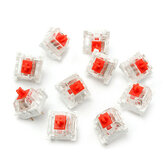10 Pcs RGB Series Red Mechanical Switch for Cherry MX Mechanical Keyboard Replacement