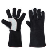 Welding Glove Cow Leather Cowhide Extreme Heat &Fire Resistant Kevla r Stitching
