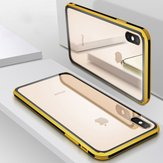Bakeey Plating Clear Scratch Resistant Tempered Glass Protective Case For iPhone XS Max