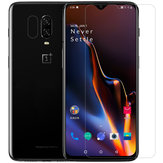 NILLKIN Anti-explosion Clear Tempered Glass Screen Protector + Lens Protective Film for OnePlus 6T/OnePlus 7