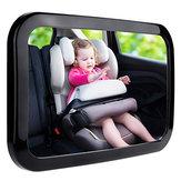 360°ПоворотныйАвтоЗащитныйреверс Back Back Seat Зеркало заднего вида подголовника Square Baby Монитор