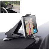 Universal Adjustable Clip Car Dashboard Holder Mount for iPhone Xiaomi Mobile Phone Under 6.5 Inches