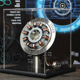 Auf Lager 1: 1 Arc Reactor DIY Modell MK2 LED-Licht Mark Chest Tony Herz Lampe Licht DIY Modell Science Toy