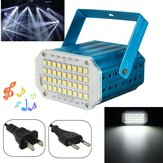 10W Witte LED Stage Light Strobe Flash Projector Voor Club Party Disco Bar KTV