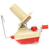 Handbediende Plastic Winder Machine Garen Fiber Wool String Ball Winding Machine
