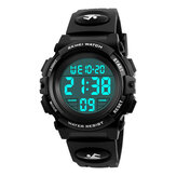 SKMEI 1266 Kinder Uhr Outdoor Sport Mode Multifunktions Chronograph Wasserdichte Digitaluhr