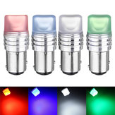 1157 BAY15D SMD 2835 LED Car Strobe Flash Tail Light Driving Lamp Bulb DC 12V Blue Green Red