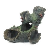 Yani Aquarium Decorations Fish Tank Tree Wood Hideaway House Ornament Realistic Aquarium Decor