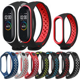 Bakeey Double Colore TPE Watch Banda Guarda la cinghia Replacement per Xiaomi Miband 4