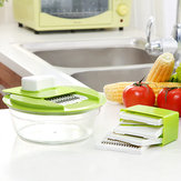 Honana KT-508 Multi-function 5 In 1 Vegetable Food Chopper Processor Machine Slicer Cutter Julienne