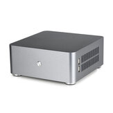 E.mini E-H80S Mini ITX Computer Case Aluminum PC HTPC Case Chassis With Dual USB 3.0