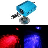 3W LED Water Wave LED Laser Stage Lighting Projector Wedding Party Wall Wash Light