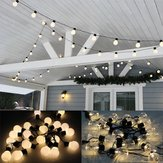 6M Warm White LED Outdoor Globe String Light 20 Bulbs Vintage Hanging Fairy Wedding Lamp Decor US EU Plug