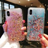 Bakeey Glitter Bling Liquid Flowing Silicone Protective Case For iPhone X/XS/XR/XS Max