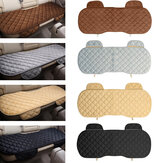 Universal Autumn Winter Rhombus Front & Rear Row Car Seat Cover Pad Small Mat Auto Chair Cushion