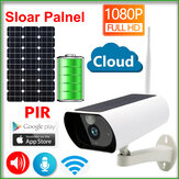 JIENUO JN-Y9 Solar Panel Battery 1080P IP Camera Wifi Sloar CCTV Wireless Security Outdoor Indoor Waterproof Full HD Surveillance PIR Detection