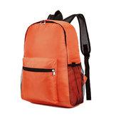 Mulheres homens leve impermeável Nylon mochila de viagem