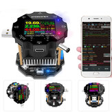 UB18L Color APP Battery Tester Electronic Load 18650 Capacity Monitor Indicator Discharge Charge Usb Meter