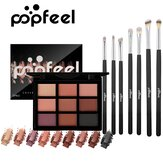 9-Color Eyeshadow Palette Eye Shadow Brush Makeup Set