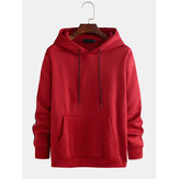 Men's New Casual Fashion Hooded Fashion Line Stitching Sweat